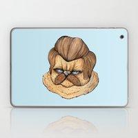 Ron Swanson Cat Laptop & iPad Skin