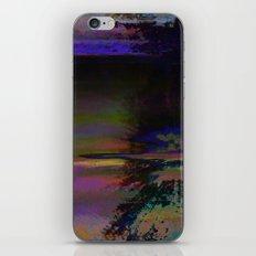 19-46-12 (Black Hole Glitch) iPhone & iPod Skin
