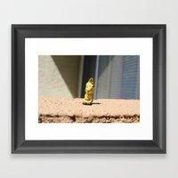 The Protector....000 Framed Art Print