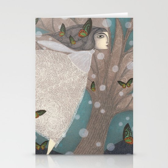 Finding Winter Stationery Card