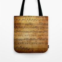 Yesterday's Music Tote Bag