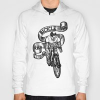 Bicycle Rider Hoody