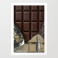 Chocolate Bar - for iphone Art Print
