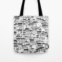 Shanghai wallpaper Tote Bag