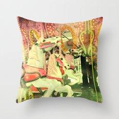 Carousel Throw Pillow