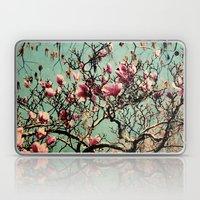 Pink Japanese Magnolia T… Laptop & iPad Skin