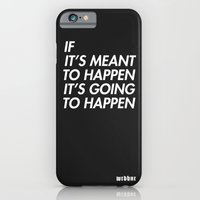 iPhone & iPod Case featuring Mean to happen /2/ by WRDBNR