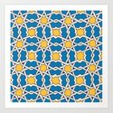 Morocco ornament Art Print