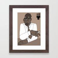 1001 Black Men--#125 Framed Art Print