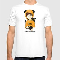 Thanks Kitty - I Like Ph… Mens Fitted Tee White SMALL