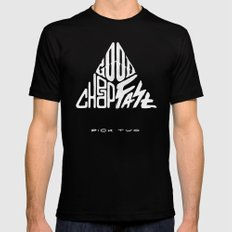 The Iron Triangle SMALL Black Mens Fitted Tee