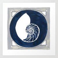 Seaside Specimen No.1 Na… Art Print