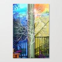 Outside View Canvas Print