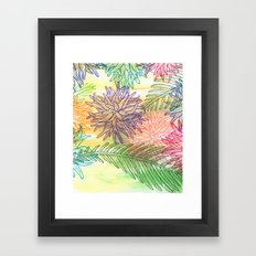 botanica Framed Art Print
