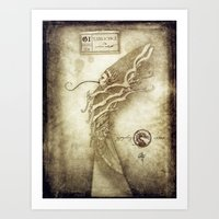 Bestiary 01 Art Print