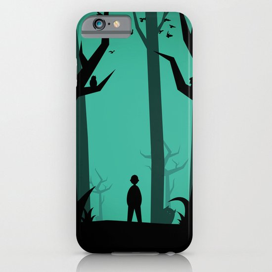 Lost In The Woods iPhone & iPod Case