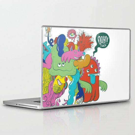Ooh!! fuck Laptop & iPad Skin