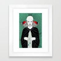 Fanni Framed Art Print