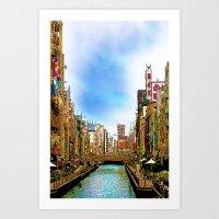 Toshi Art Print