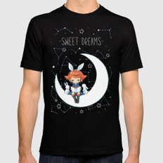 Sweet Dreams Mens Fitted Tee Black SMALL