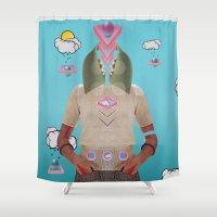 Skimagine Shower Curtain