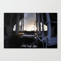 Train Hop Canvas Print