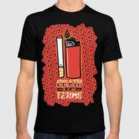 Death On My Own Terms Mens Fitted Tee Black SMALL