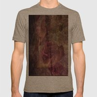Abstract Mens Fitted Tee Tri-Coffee SMALL