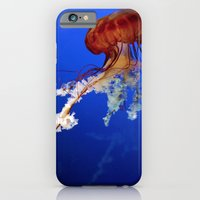 iPhone & iPod Case featuring Jellyfish 2 by Michelle Chavez