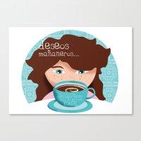 Deseos Mañaneros Canvas Print