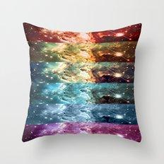 Rainbow Nebula Panel Art : Monkey Head Nebula Throw Pillow