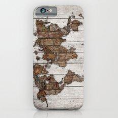 Wood Map 2 iPhone 6 Slim Case