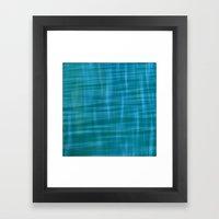 Pacific Ocean Blues Framed Art Print