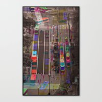 Sequential Serie : The Center Canvas Print
