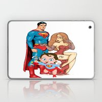 super heros family Laptop & iPad Skin