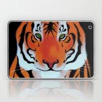 Green Eyes, Tiger Laptop & iPad Skin