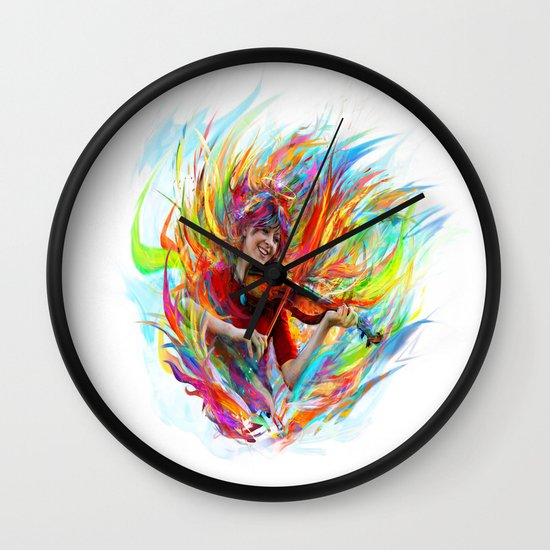 Lindsey Stirling Wall Clock