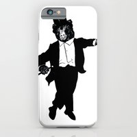 iPhone & iPod Case featuring Tap Dancing Bear by JRSutton