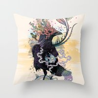 You Are Free To Fly Throw Pillow