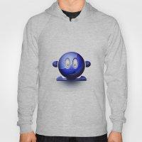 Emoticon Blue Hoody