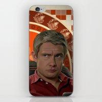 Living With Sherlock Hol… iPhone & iPod Skin