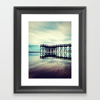 Open Up Your Heart Framed Art Print