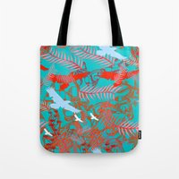 flying birds Tote Bag