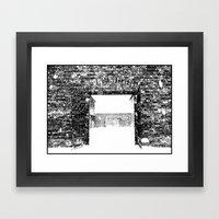 Gates Framed Art Print