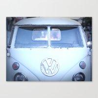 VW love Canvas Print