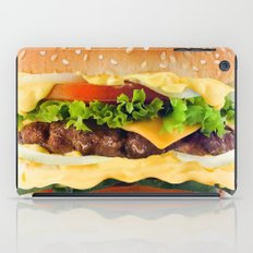 Cheeseburger YUM iPad Case