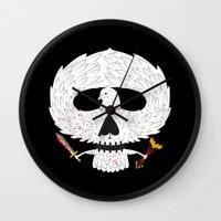 Dove of Death Wall Clock