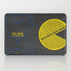 Pac-Man Typography iPad Case
