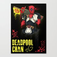 Dead Pool-chan Canvas Print
