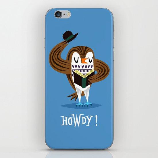 The Howdy Owl iPhone & iPod Skin